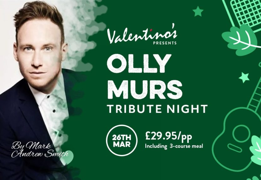 Olly Murs Tribute Night in Wakefield
